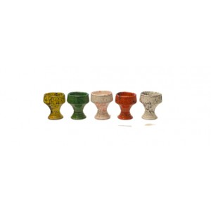 Colored Hookah Bowl - Turkish Style