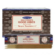 Incense - Nag Champa 15g Good Vibes (Box of 12)