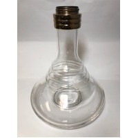 Twist & Lock Hookah Glass Base (Fits Medium, Large & Babylon Hookahs)