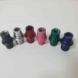 Hookah Adapter from Male Bowl to Female Bowl - Coloured