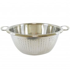 Stainless Food Strainer W/ Handles & Legs 24cm