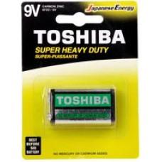 Toshiba Super Heavy Duty Batteries - 9V (1 pack)