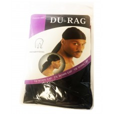 Du-Rag - One Size Fits All - Black (12/Display)