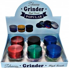 Metal Grinder 3 Parts - Fancy Aluminum No Name (12)