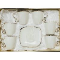 Cups w/ Handle & Saucer (12 Pcs) (125cc)