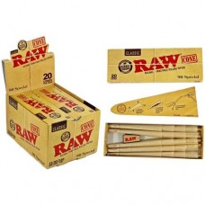 Raw Classic Unrefined Cones 98 Special, 20/box,12/display