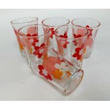 Glass Tumblers 2 oz (Set of 6)