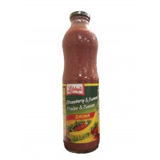 Libby's Strawberry & Banana Juice - Glass (8 x 1 L)