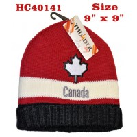 Hat - Canada - Leaf & Words (12 Pack)