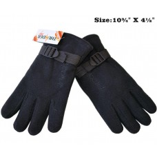 Gloves - Fleece - Insulated w/ Strap (12 Pack)
