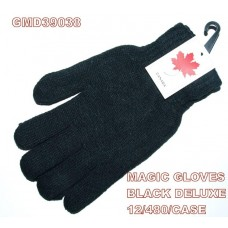Gloves - Magic - Adult - Black (12 Pack)