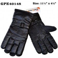Gloves - Men's - Leather - Insulated (12 Pack)