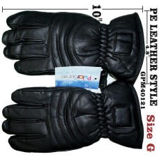 """Men's - Leather Look - Insulated - 10"""" x 5"""" (12 Pack)"""