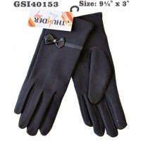 Gloves - Women's - Silky w/ Bow (12 Pack)