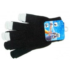 Gloves - Touch - Black (12 Pack)