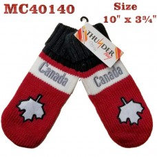 Mitten - Canada - Leaf & Words (12 Pack)
