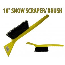 "Snow Scraper/Brush 18"" (12 Pack)"
