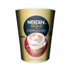 Nescafe Gold Cappuccino W/Lid (10/Sleeve)