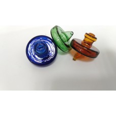 Water Pipe Carb Cap - Glass