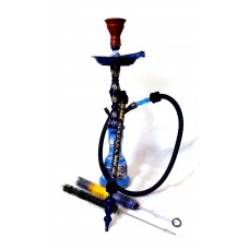 "Sultana - Single Candle Stick - Blue 26"""