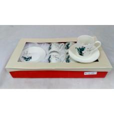 Cups w/ Handle & Saucer (12 Pcs) (90cc)