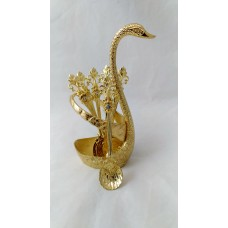 Tea Spoons and Stand Set - Fancy Swan