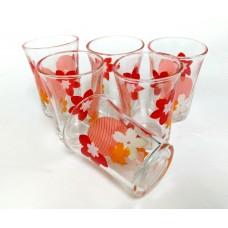 Glass Cups (6 Pcs)