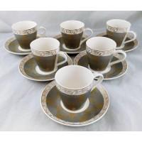 Cup & Saucer Set (12 pcs)