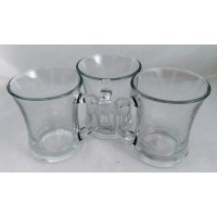Glass Mugs 200ml (Set of 3)