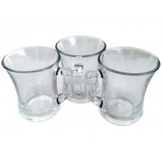 Glass Mugs 200ml (Set of 3)