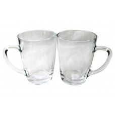 Glass Mugs 10 Oz (Set of 12)