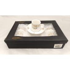 Cup and Saucer Set (12 Pieces)