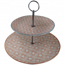 3 Tier Serving Tray - Pink