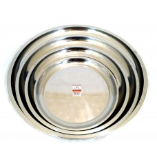 40cm Stainless Steel Serving Tray (1pc)