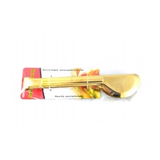 Notched Tong - Gold