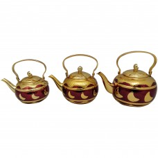 Tea Pot - Stainless Steel - Fancy - 1.2L/1.6L/2L
