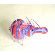 Glass Pipe Inside Rhino