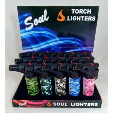 Soul Torch Lighter (15/Display) - Camouflage