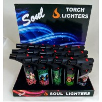 Soul Torch Lighter (15/Display) - Cheech & Chong