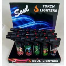 Soul Torch Lighter (15/Display) - Cheech & Chong