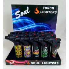 Soul Torch Lighter (15/Display) - Keep Calm