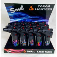 Soul Torch Lighter (15/Display) - Marijuana
