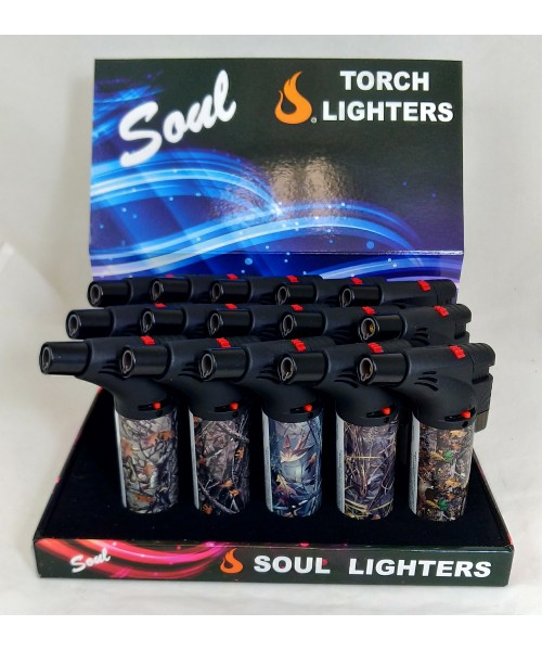 Soul Torch Lighter (15/Display) - Hunting