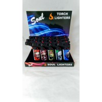Soul Torch Lighter (15/Display) - Skull