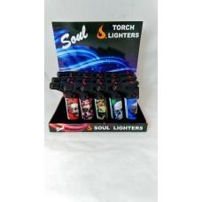 Soul Torch Lighter (15/Display) - Skull