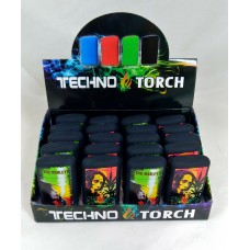 Soul Torch Lighter (15/Display) - Bob Marley