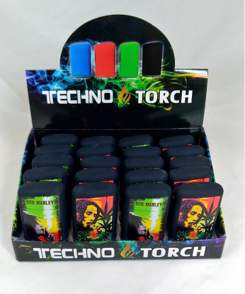 Soul Torch Lighter (15/Display) - Bob Marley