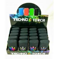 Soul Torch Lighter (20/Display) - Marijuana