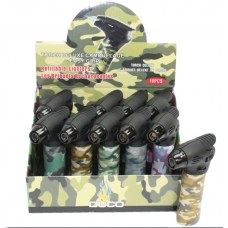 Duco Easy Grip Torch Lighter - Camo (10/Display)