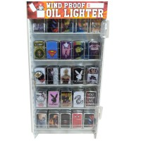 Wind Proof Oil Lighter (75/Disp)